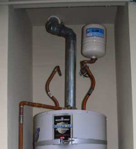 Hot Water Heater Expansion Tank Installation in Los Angeles